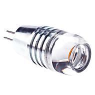billige Spotlys med LED-3000lm G4 LED-spotpærer 1 LED perler Høyeffekts-LED Varm hvit 12V