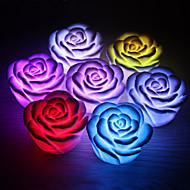 LED Night Light Bateria Plástico 1 Luz Baterias Incluidas 6.5*6.5*4.0cm