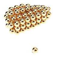 Magnetiske puslespil Byggeklodser Magnetiske kugler 50 Stk. 5mm Legetøj Magnet Magnetisk Kugle Gave
