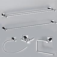 Χαμηλού Κόστους YALI.M®-Σετ αξεσουάρ μπάνιου / Χρώμιο Σύγχρονο