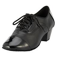נעליים עליון ריקוד העור של גברים מותאמים אישית