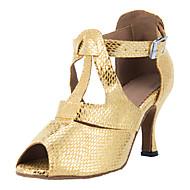 Testreszabott női műbőr Felső Dance Shoes