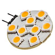 billige Bi-pin lamper med LED-SENCART 1.5W 3200lm G4 LED-lamper med G-sokkel 9 LED perler SMD 5050 Varm hvit 12V