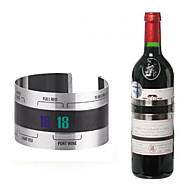 garrafa de vinho de aço inoxidável termômetro termômetro de banda térmica para barra de cozinha