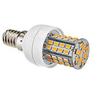 billige Kornpærer med LED-1pc 3,5 W 350-450 lm E14 E26/E27 LED-kornpærer 60 leds Varm hvit Naturlig hvit 3500 K AC 220-240 V