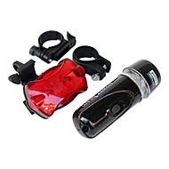 billige Sykkellykter og reflekser-Baklys til sykkel Frontlys til sykkel LED Sykling Vanntett bakgrunnsbelysning AAA Lumens Batteri Sykling