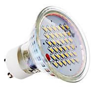 gu10 led spotlight mr16 36 smd 3014 280lm varm hvit 2700k ac 220-240v