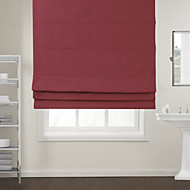 cheap Blinds & Shades-Eco-friendly Cotton/Polyester Blend Roman Shade