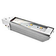 billige Kornpærer med LED-160 lm G24 LED-kornpærer 6 LED perler SMD 5050 Varm hvit 220-240 V