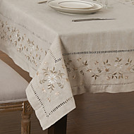 As per picture Linen / Rayon Square Table Cloths Kitchen & Dining