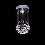 billige Taklamper-SL® Krystall Anheng Lys Omgivelseslys galvanisert Metall Krystall 110-120V / 220-240V Pære ikke Inkludert / GU10