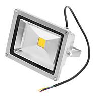 tanie Naświetlacze-JIAWEN 1 szt. 20 W 1400 lm 1 Koraliki LED LED zintegrowany Wodoodporny Ciepła biel 220-240 V / 85-265 V
