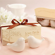 Beter Gifts®Love Birds Ceramic Salt And Pepper Shakers Wedding Favor