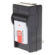 SONY DSC-W100 T100 W120 W150 w200 W290 W300 için şarj cihazı ile NPhyphenminusBG1 NP FG1 pil