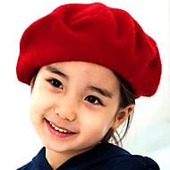 tanie Akcesoria dla dzieci-Kapelusze i czapki - Dla dziewczynek - Zima - Inne Black Fuchsia Czerwony Niebieski Camel