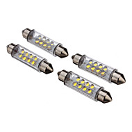 Bil Kold Hvid Instrumentbræt lys Nummerpladelys Lampe Sidemarkerings Lys Blinklys Bremselys