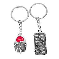 personalizate mouse-ul cadou gravate și sub formă de tastatură iubitor de breloc
