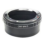 Emolux Olympus OM-objektiv Å mikro 4/3 m4 / 3 Adapter for E-P1 E-P2 E-P3 G1 GF1 GH1 G2 GF2 GH2 G3 GF3