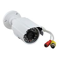 700tvl 1/4 CMOS ir-cut (dag og natt byttefunksjon) overvåkning utendørs vanntett infrarød kamera ys-6624cc