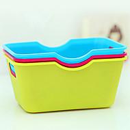 halpa -Candy Color Plastic Järjestäjä Box (random väri)