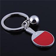 preiswerte Kundenspezifische-Individuelle Gravur Geschenk Tischtennisschläger geformt Schlüsselbund