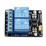 2 canale 5V nivel ridicat de declanșare modul releu pentru (pentru Arduino) (funcționează cu oficial (pentru Arduino) placi)