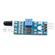 slimme auto infrarood obstakel vermijden sensor voor (voor Arduino)
