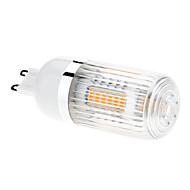 billige Spotlys med LED-680-760 lm G9 LED-kornpærer T 27 leds SMD 5630 Varm hvit AC 85-265V