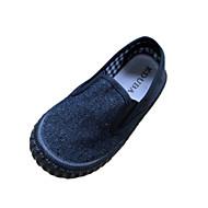 baratos Sapatos de Menina-Para Meninas Sapatos Lona Primavera Conforto Mocassins e Slip-Ons para Vermelho / Azul / Verde