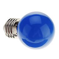 billige Globepærer med LED-0.5 W 30 lm E26 / E27 LED-globepærer G45 7 LED perler Dyp Led Dekorativ Blå 220-240 V / RoHs
