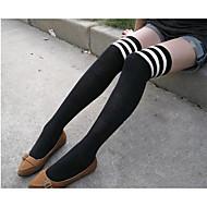 בגדי ריקוד נשים דק גרביים - פסים דק