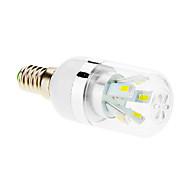 7W E14 LEDコーン型電球 T 10 SMD 5630 600-650 lm クールホワイト AC 85-265 V