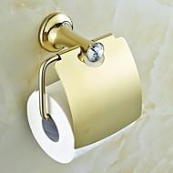 Χαμηλού Κόστους Ti-PVD Series-Βάση για χαρτί τουαλέτας Υψηλή ποιότητα Σύγχρονο Ορείχαλκος 1 τμχ - Ξενοδοχείο μπάνιο