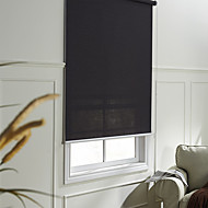 cheap Blinds & Shades-Blinds  Roller Shade Eco-friendly Mount Inside Solid Fabric Cotton Jacquard