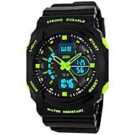 skmei® dětské hodinky sportovní duální čas zóny multifunkční odolný proti vodě