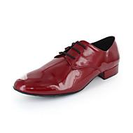 נעלי אוקספורד נעלי המעוור עליון המחול המודרני של גברים עם תחרה קופצים