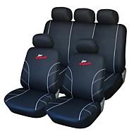 9 stk Sæt bil sædebetræk Black and White Bag Racing Style Proctor Set-L Universal Fit
