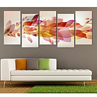 halpa -Canvastaulu Art Upea Color Set of 5