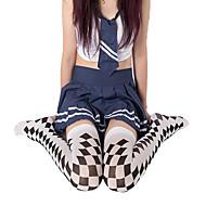 cheap Sexy Costumes-Socks / Long Stockings Punk Lolita Dress Lolita Lolita Women's Lolita Accessories Print Stockings Polyester