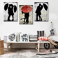 baratos -Esticada lona de arte The Lover In The Set Chuva de 3
