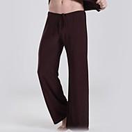 hesapli Under $13.99-Erkek Actif / Çin Stili Salaş Salaş / Actif / Geniş Bacak Pantolon Solid / Spor