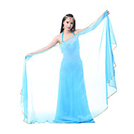 cheap Sale-Belly Dance Stage Props Women's Performance Chiffon Veil