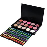 billiga Ögonskuggor-183 färger Ögonskuggor / Puder Öga Vardagsmakeup / Festmakeup Smink Kosmetisk / Matt / Skimmrig