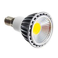 6W E14 E26/E27 Lâmpadas de Foco de LED leds COB Regulável Branco Quente Branco Frio 250-300lm 3000K AC 220-240V
