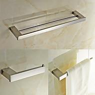 浴室用品セット / ステンレススチール ステンレス鋼 /コンテンポラリー