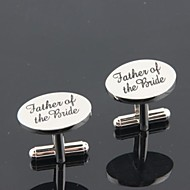 cheap Men's Accessories-Cufflinks Classic Creative Wedding Party Anniversary Business / Ceremony / Wedding Men's Costume Jewelry