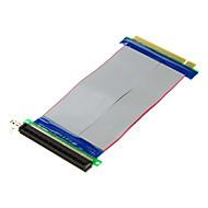 PCI-E 16x han til 16x kvindelige forlængerledninger (20cm)