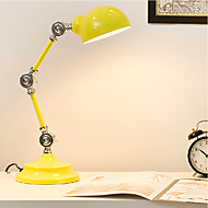 Max 60W Novelty Desk Lamps , Feature for LED / Swing Arm / Eye Protection , with Painting Use On/Off Switch Switch