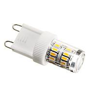2w g9 led mısır ışıkları t 27 smd 3014 180-200 lm sıcak beyaz dekoratif ac 220-240 v