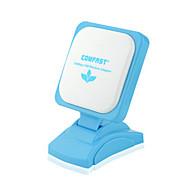 お買い得  電源ラインネットワーク・アダプター-comfast無線LANアダプター150mbpsワイヤレスネットワークLANカードcf-wu670n